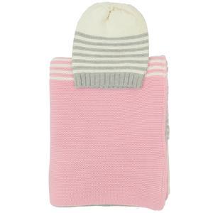 Sia baby blanket & beanie set