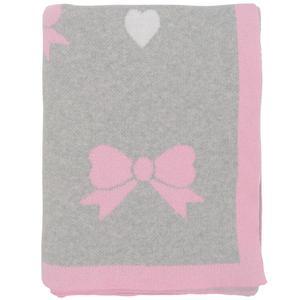 Pretty bows baby blanket