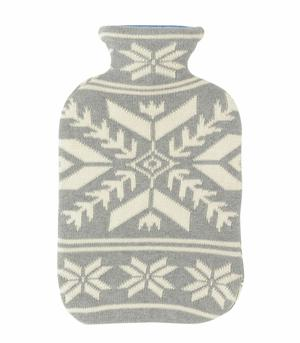 Snowflakes Hot Water Bottle