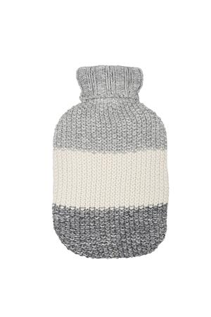 Marl Moss Stripe Hot Water bottle