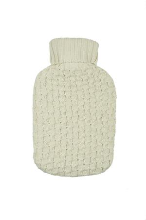 Honey Comb knit  Hot water bottle