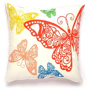 Butterfly rabble pillow