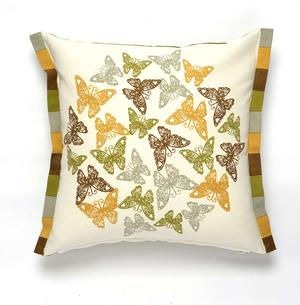 Butterfly flutter pillow