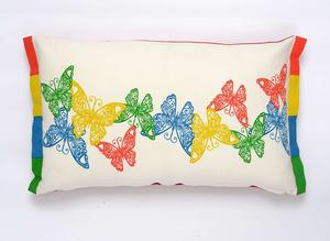 Butterfly lumbar pillow