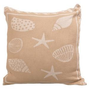 Sea shell pillow