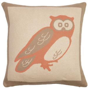 Woodland animals pillow