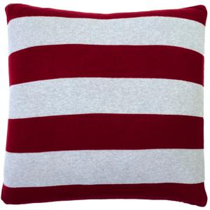 Rugby stripe pillow