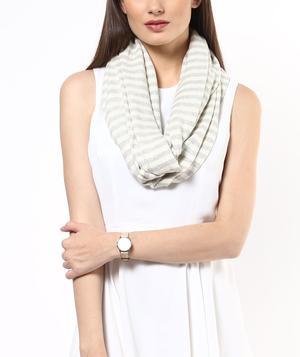 Spring stripe scarf