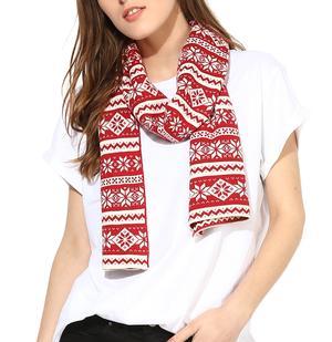 Mini snowflakes scarf