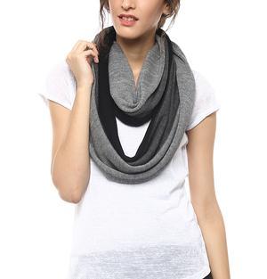 Merino loop scarf