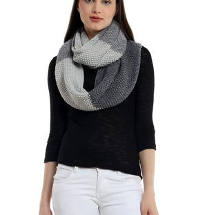 Ombre loop scarf