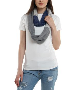 Autumn Cotton Knit Scarf