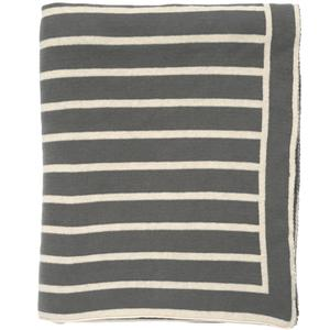 Beach stripes throw