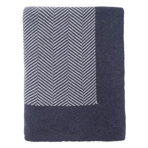 Herring bone  throw