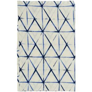 Shibori clamp tea towel
