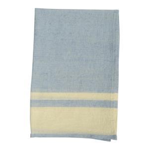 Chambray stripe Tea Towel