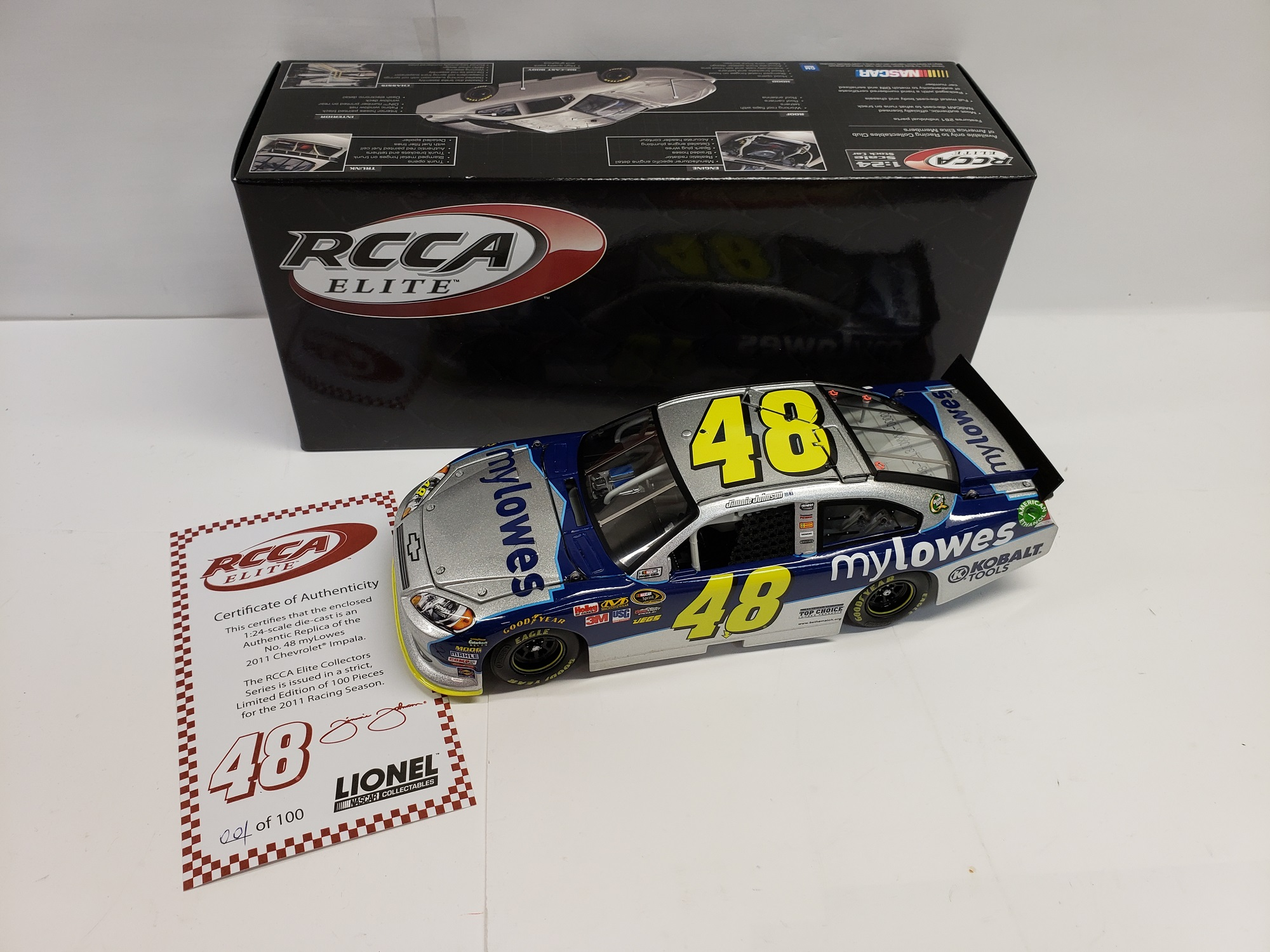 2011 Jimmie Johnson  My Lowe's Elite