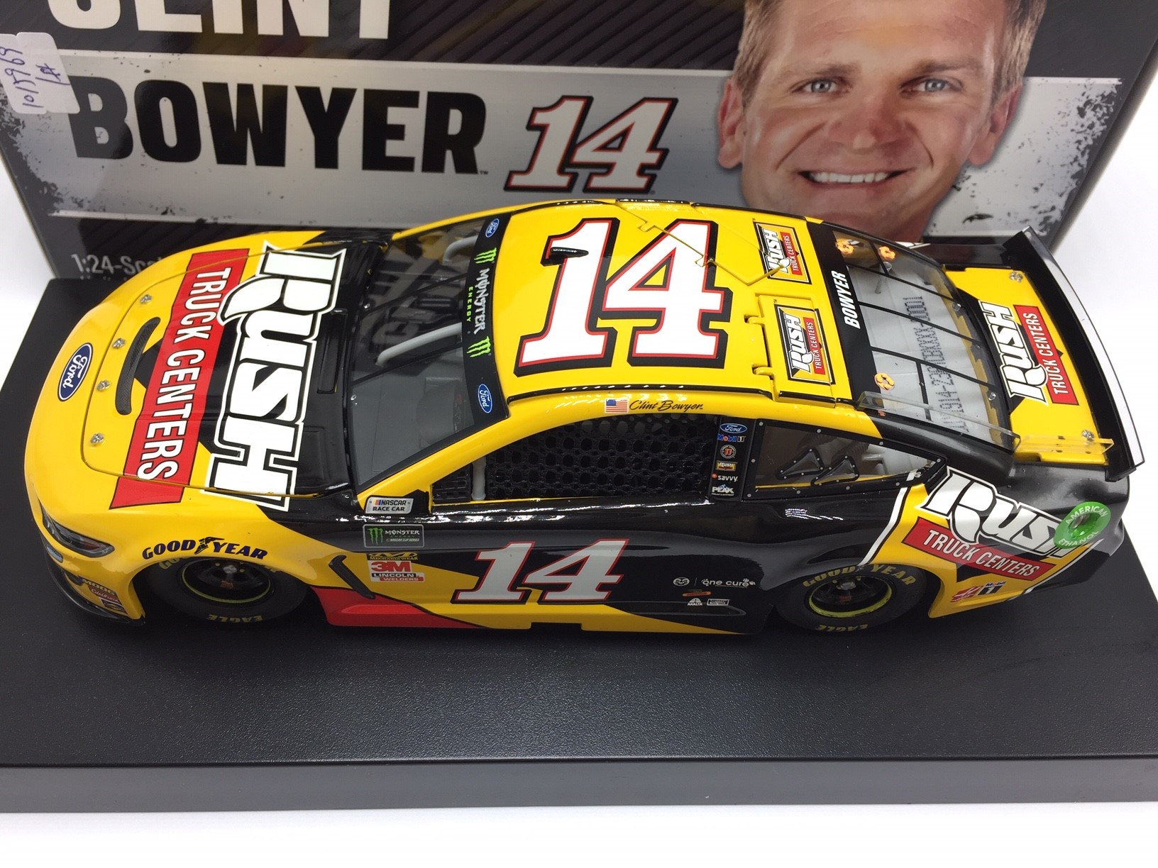 Rush Truck Centers >> Buy Clint Bowyer 2019 Rush Truck Centers 1 24 Arc Diecast