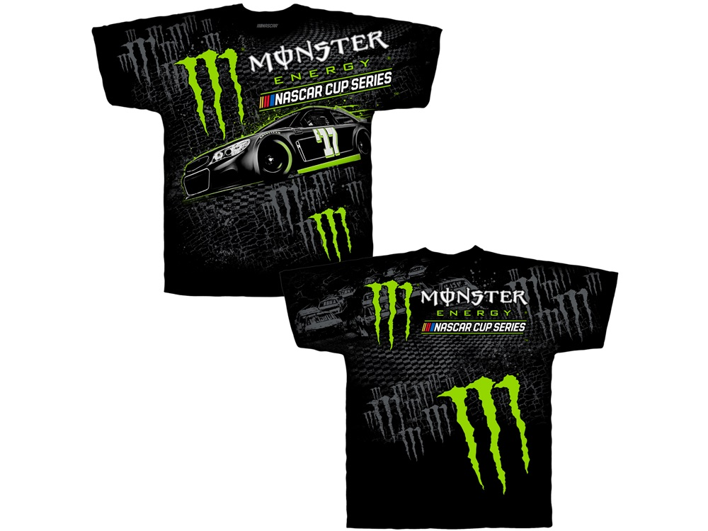 MONSTER ENERGY ADULT TOTAL PRINT TEE - size LG