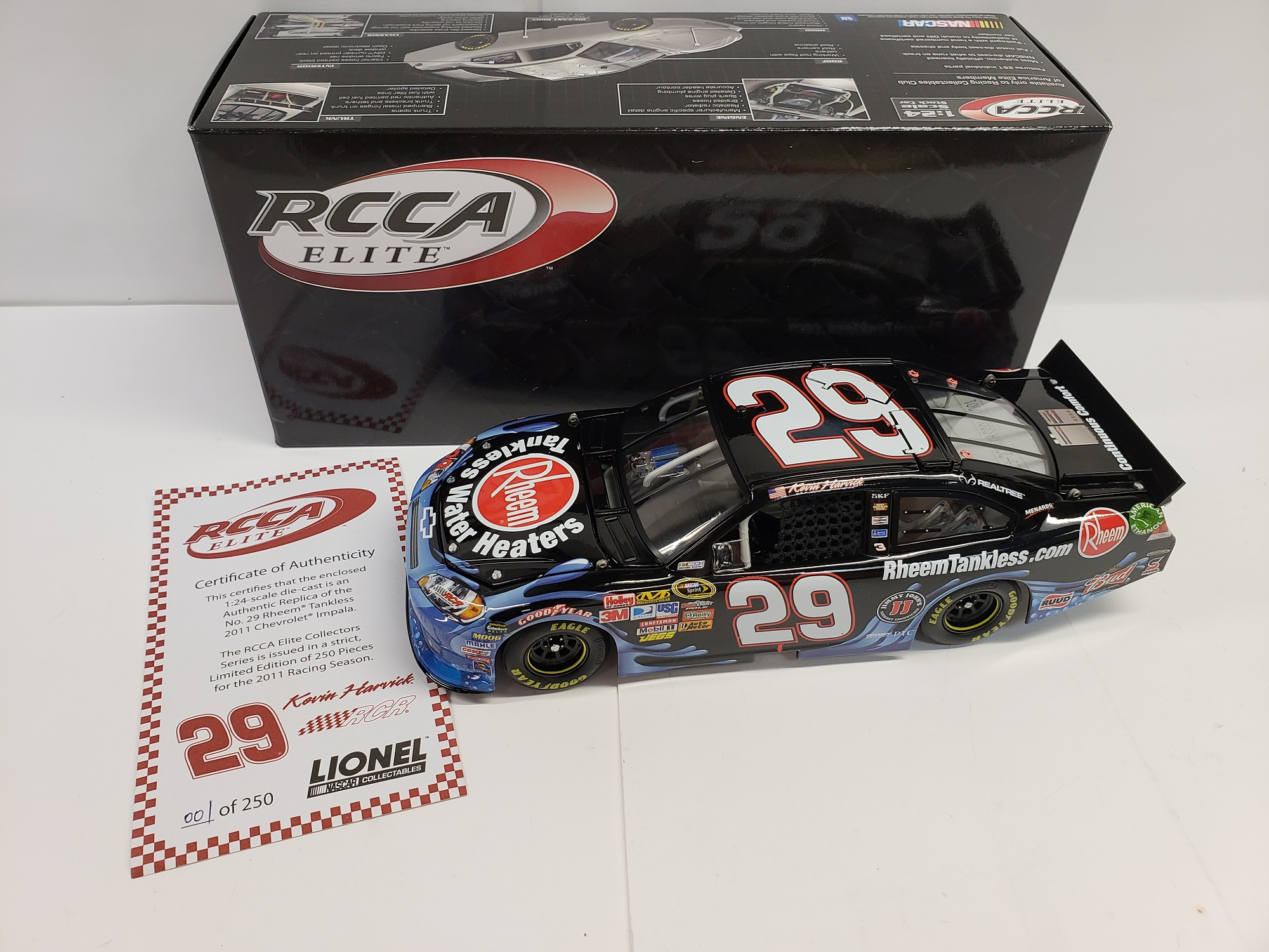 2011  Kevin Harvick  Rheem Tankless Water Heaters ELITE