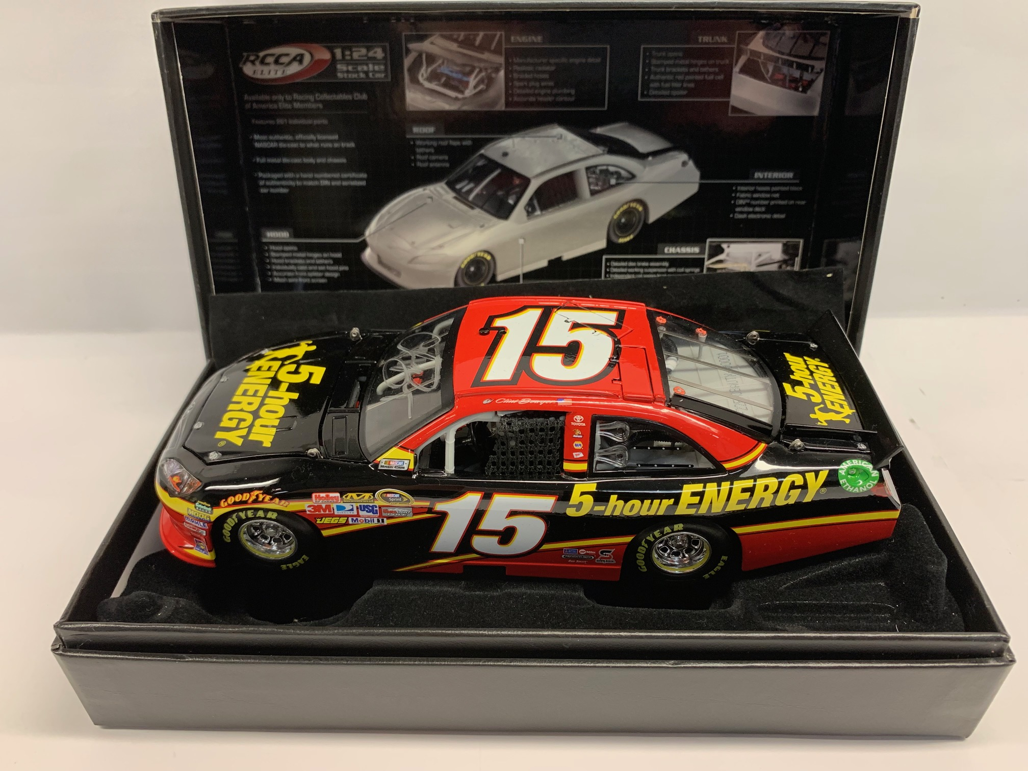 2012 Clint Bowyer 5-Hour Energy / Autographed ELITE