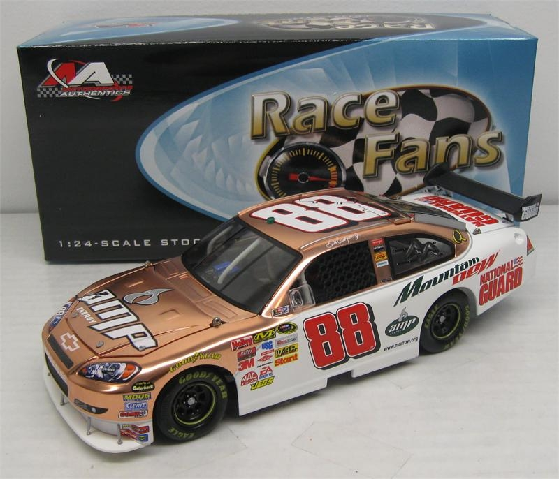 2008 Dale Earnhardt Jr Amp Energy/Mt. Dew QVC ARC COPPER