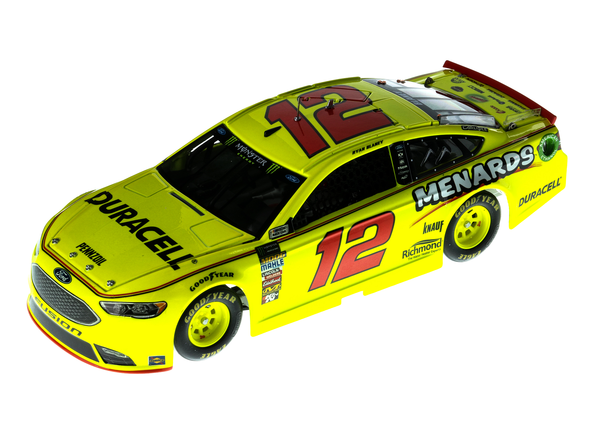 RYAN BLANEY 2018 DURACELL/MENARDS 1:24 ELITE