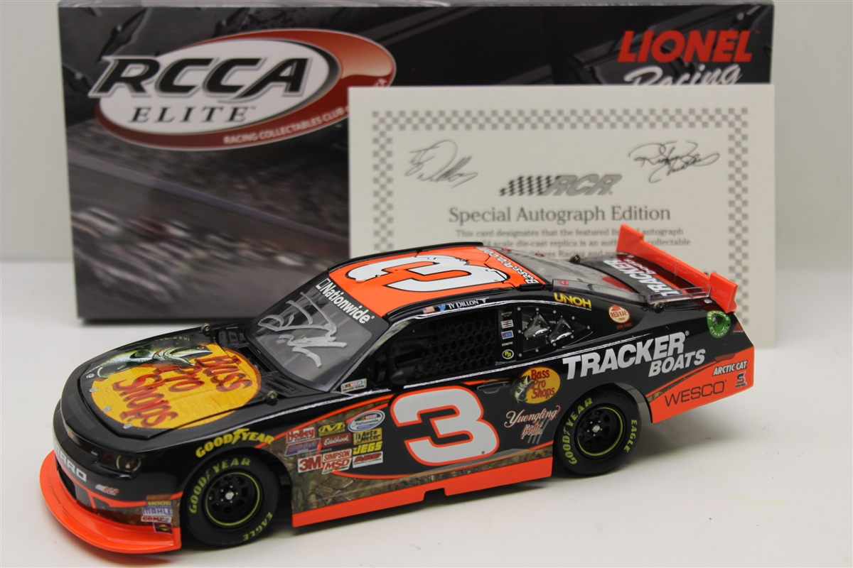 2014 Ty Dillon ELITE Autograph Bass Pro Shops
