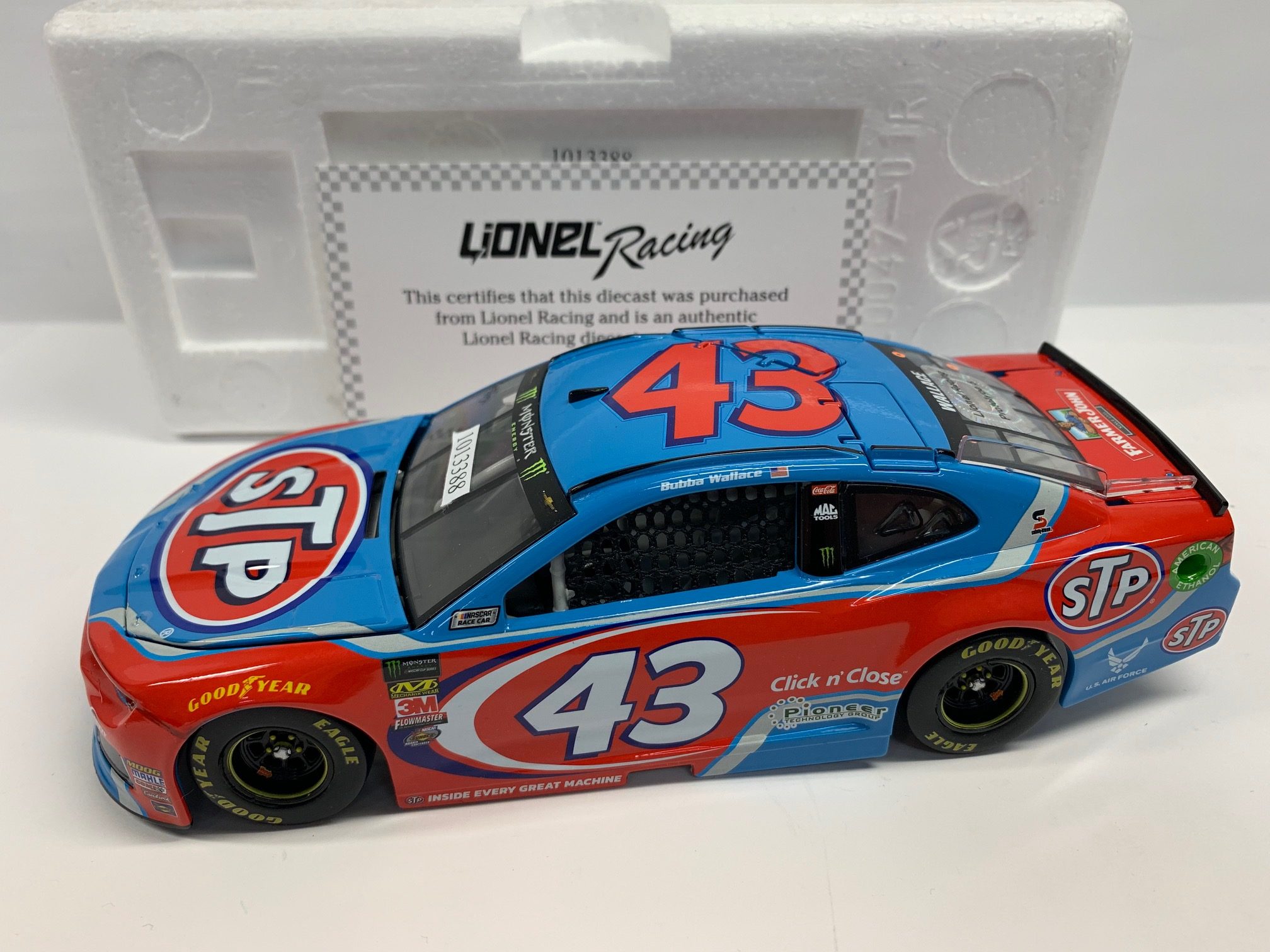 BUBBA WALLACE 2018 STP 1:24 ARC PROTOTYPE DIECAST