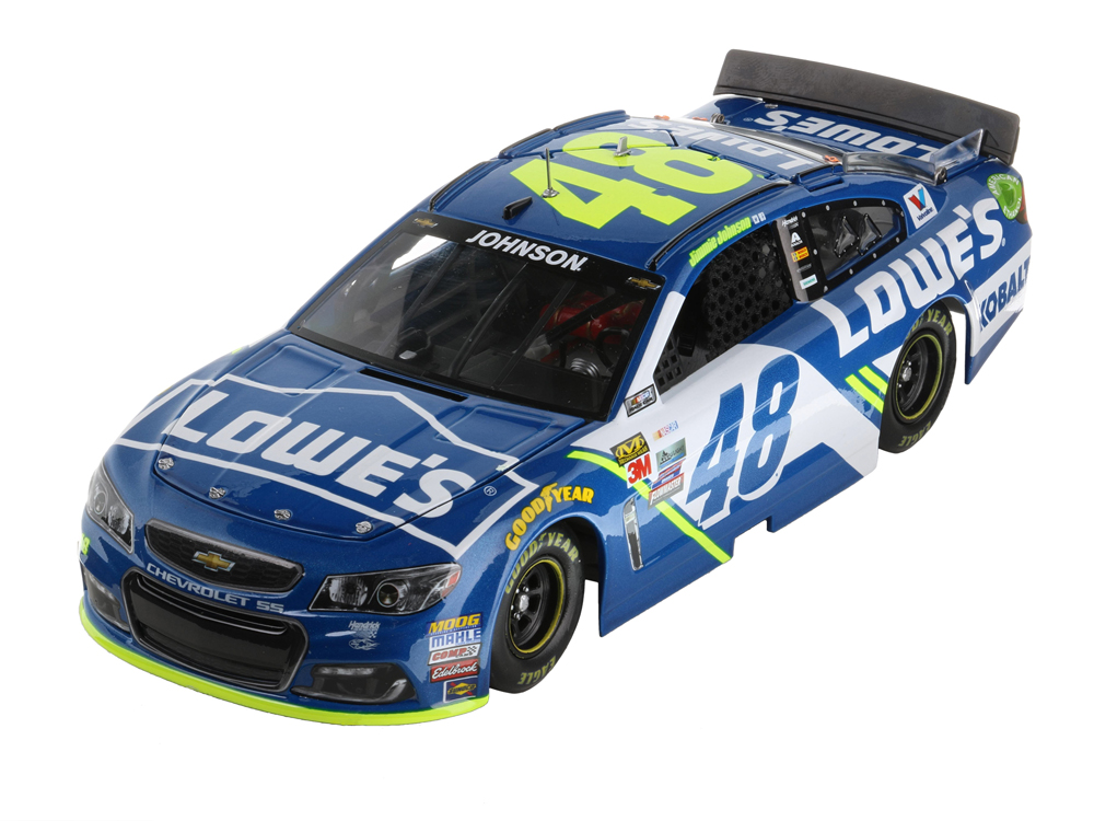 J Johnson 1/24 Elite Lowe'S 17 Ss