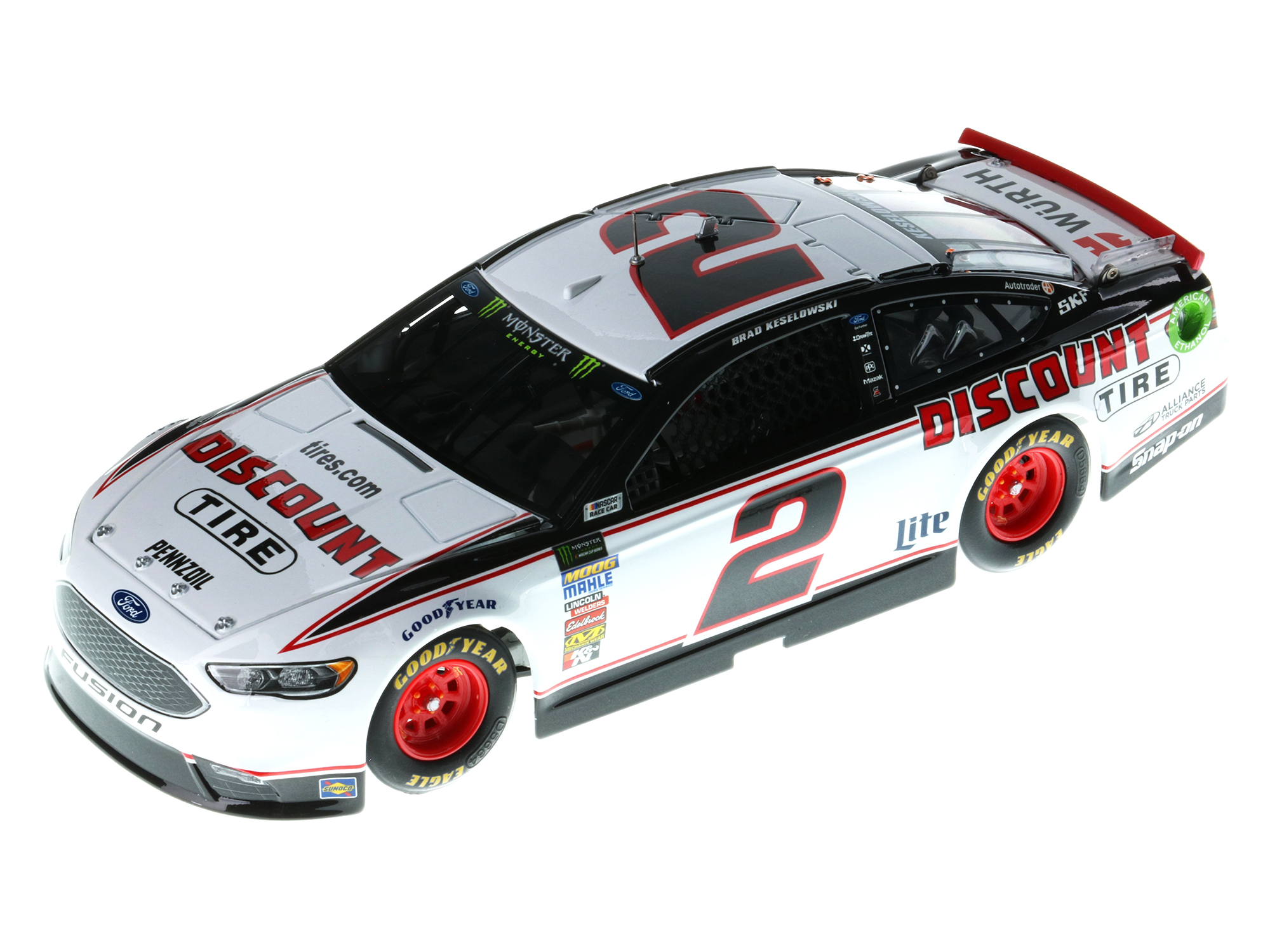 BRAD KESELOWSKI 2018 DISCOUNT TIRE 1:24 ELITE