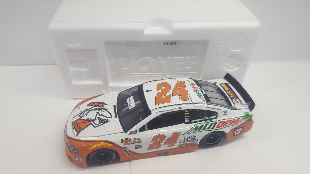 C ELLIOTT 1/24 HOTO MOUNTAIN DEW LITTLE CAESARS 17 SS