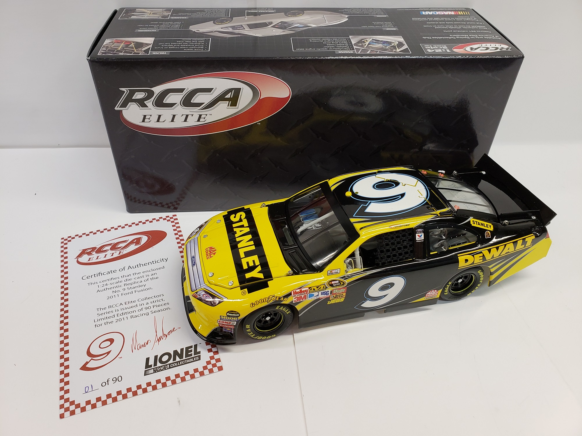 2011 Marcos Ambrose Stanley RCCA Elite