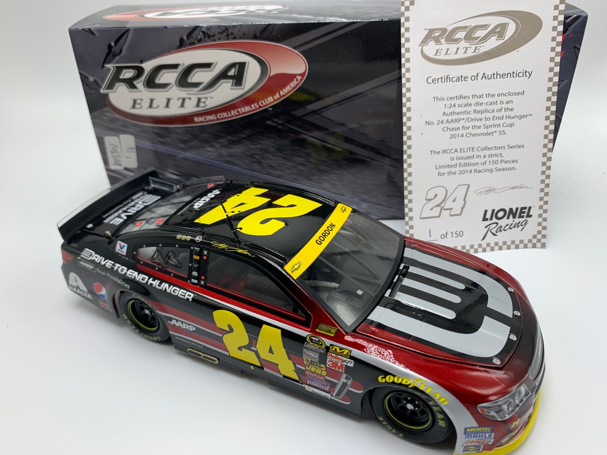 2014 Jeff Gordon ELITE AARP/DTEH Chase For the Cup