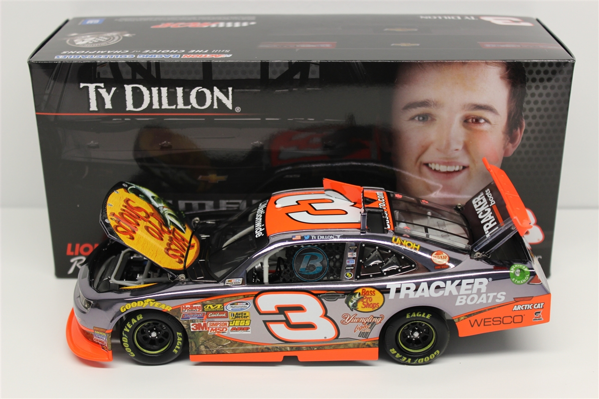 2014 Ty Dillon HOTO Color Chrome Bass Pro Shops