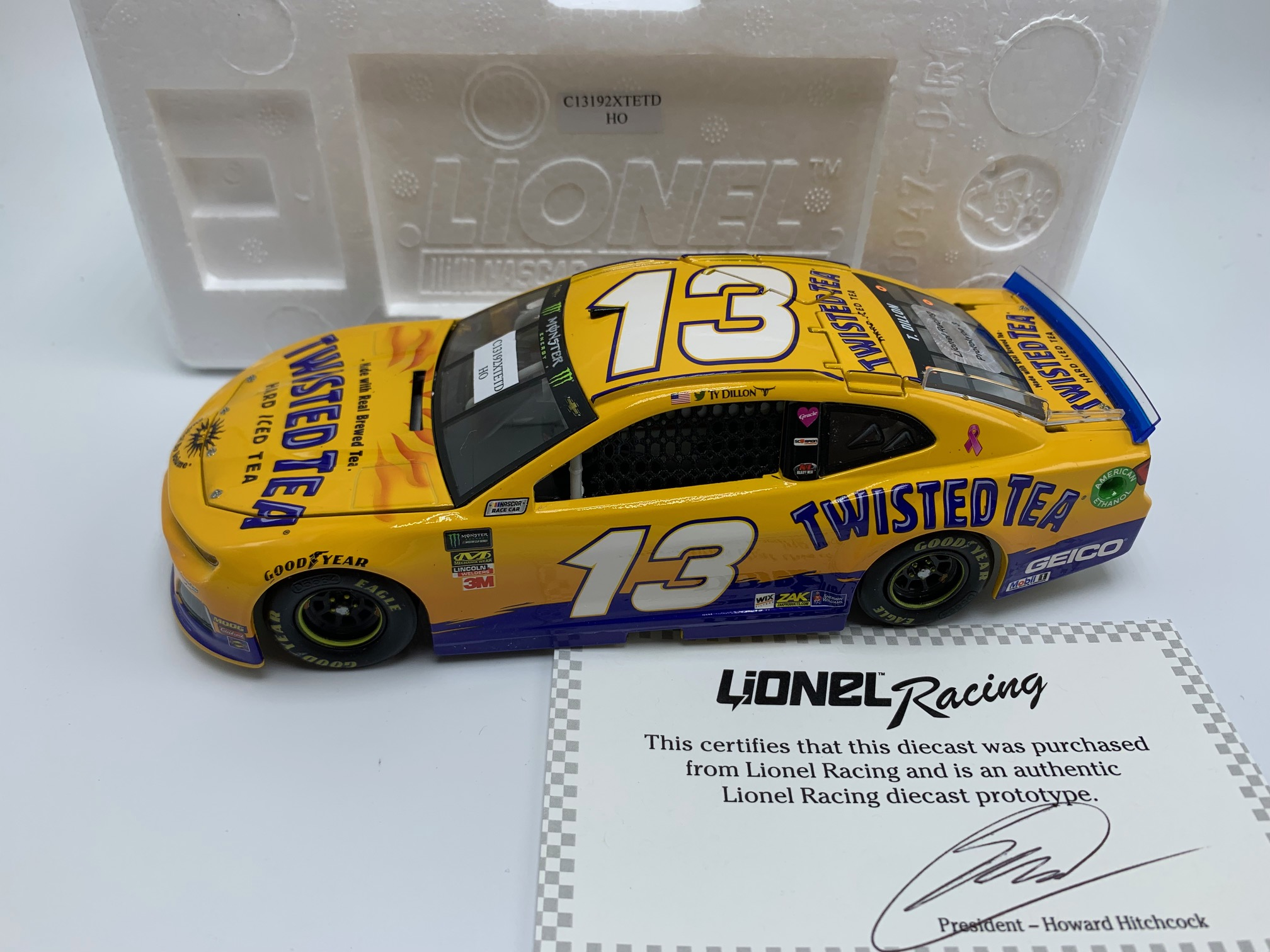 TY DILLON 2019 TWISTED TEA 1:24 PROTOTYPE #3 -DNP!