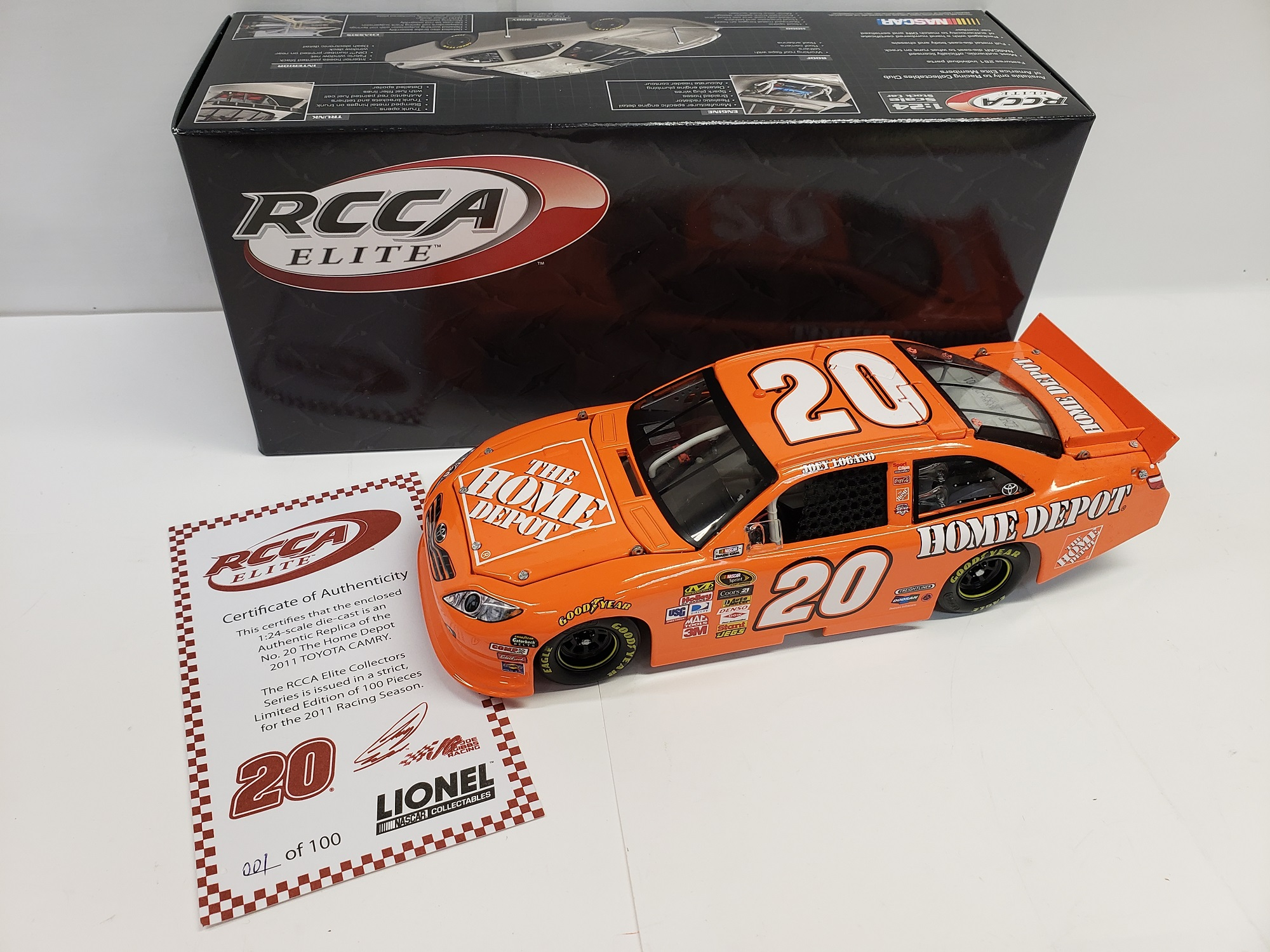 2011 Joey Logano The Home Depot RCCA Elite