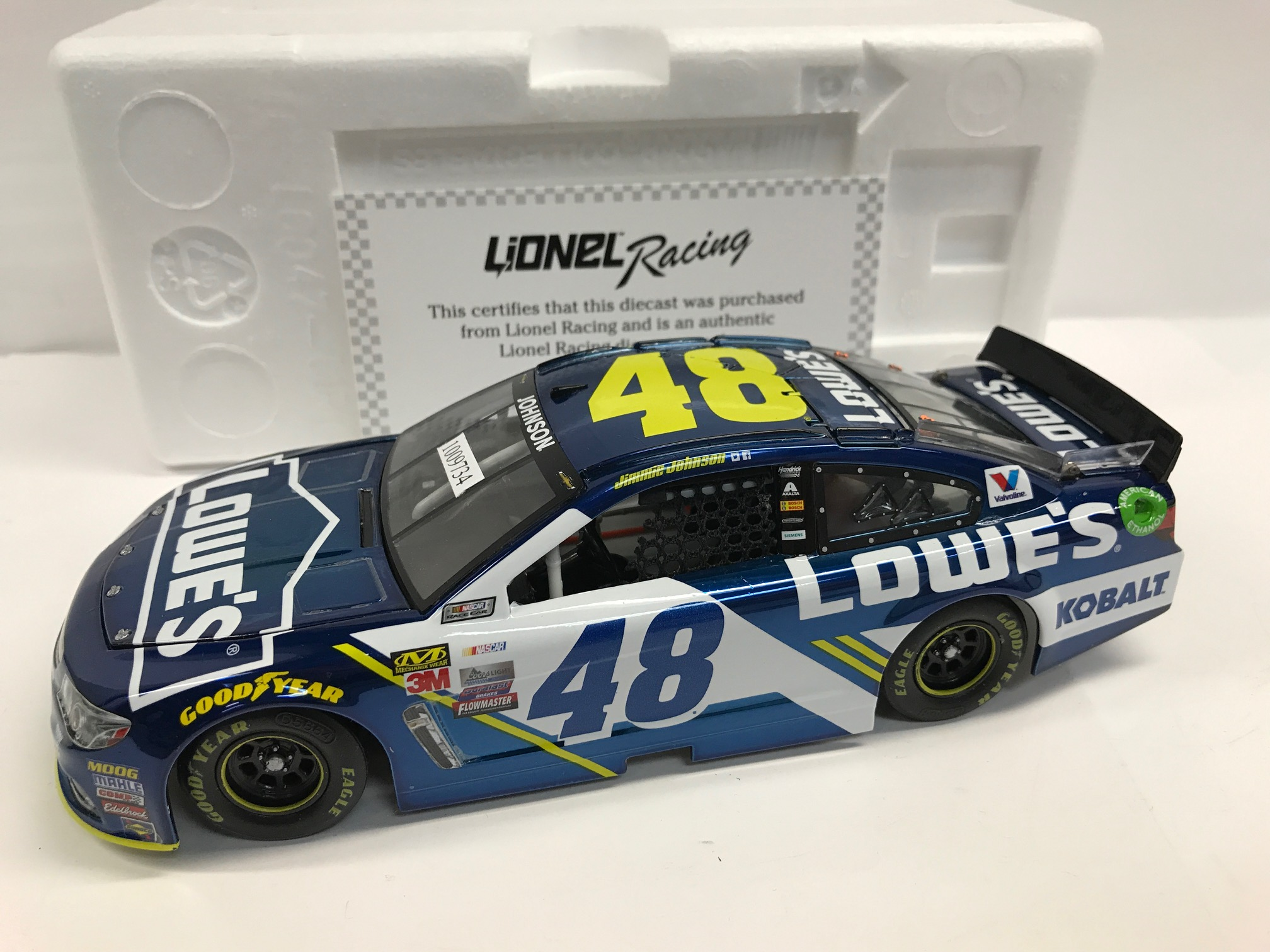 JIMMIE JOHNSON 2017 LOWE'S COLOR CHROME 1:24 ARC PROTOTYPE