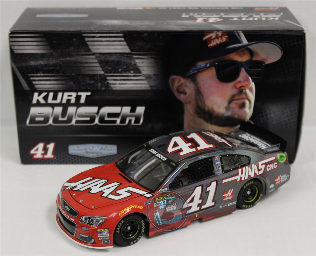 2016 Kurt Busch HOTO Flashcoat Color HAAS Automation