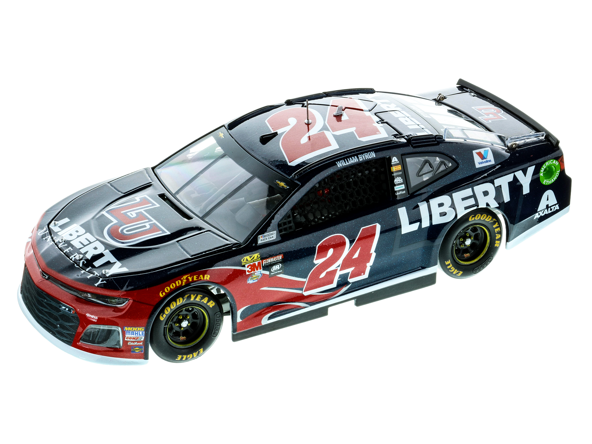 WILLIAM BYRON 2018 LIBERTY UNIVERSITY 1:24 ELITE DIECAST