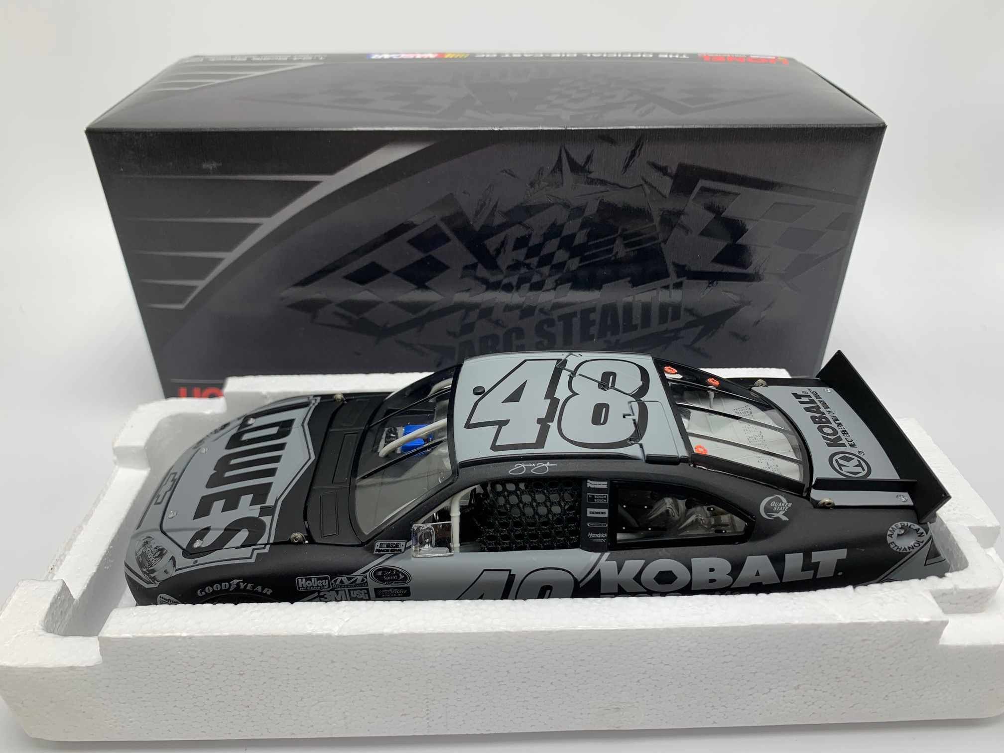 JIMMIE JOHNSON 2011 KOBALT TOOLS 1:24 ARC STEALTH DIECAST - DIN # 1