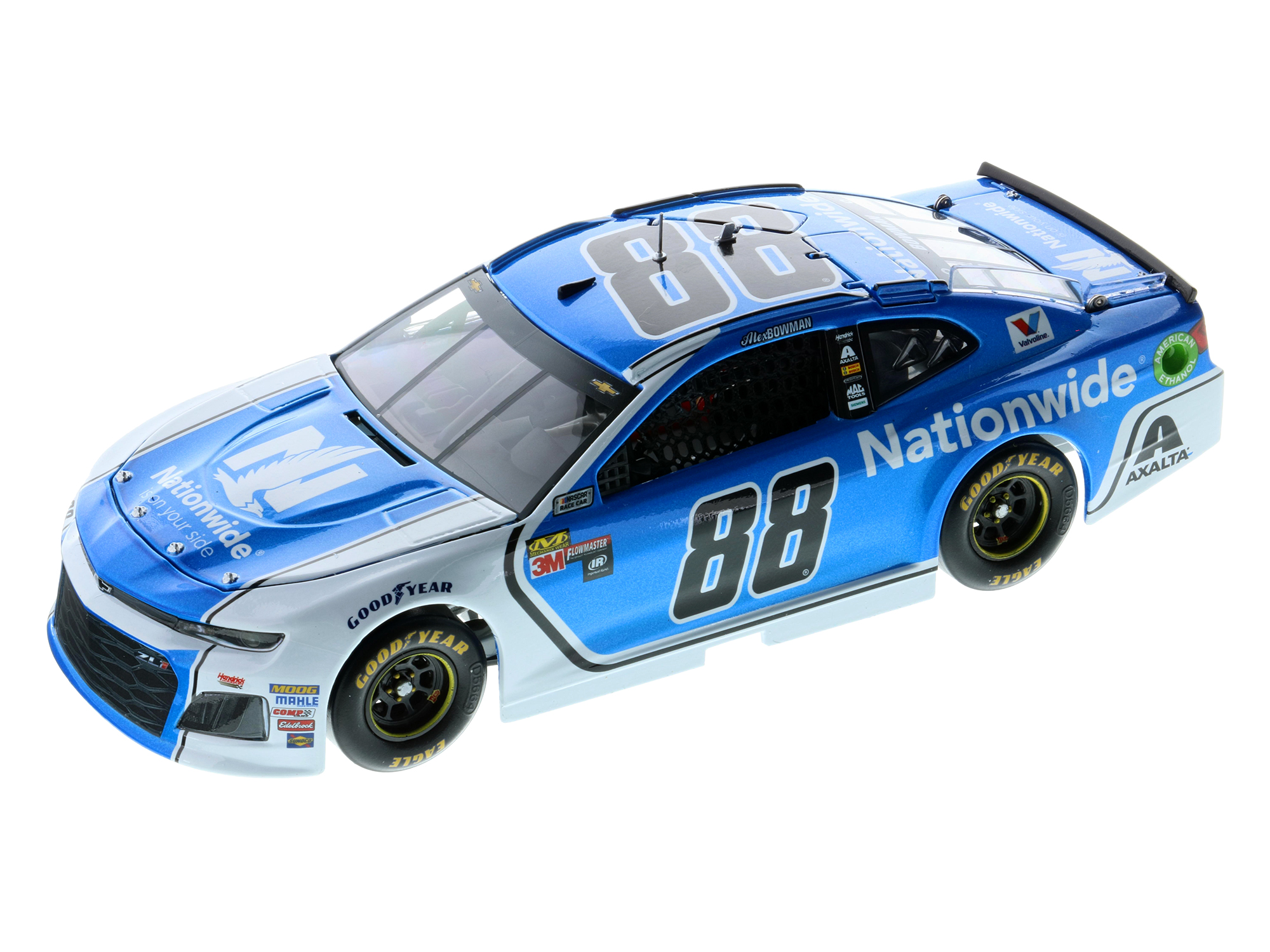 ALEX BOWMAN 2018 NATIONWIDE 1:24 ELITE DIECAST