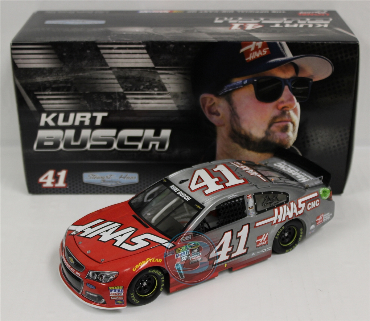 2016 Kurt Busch HOTO Raw HAAS Automation