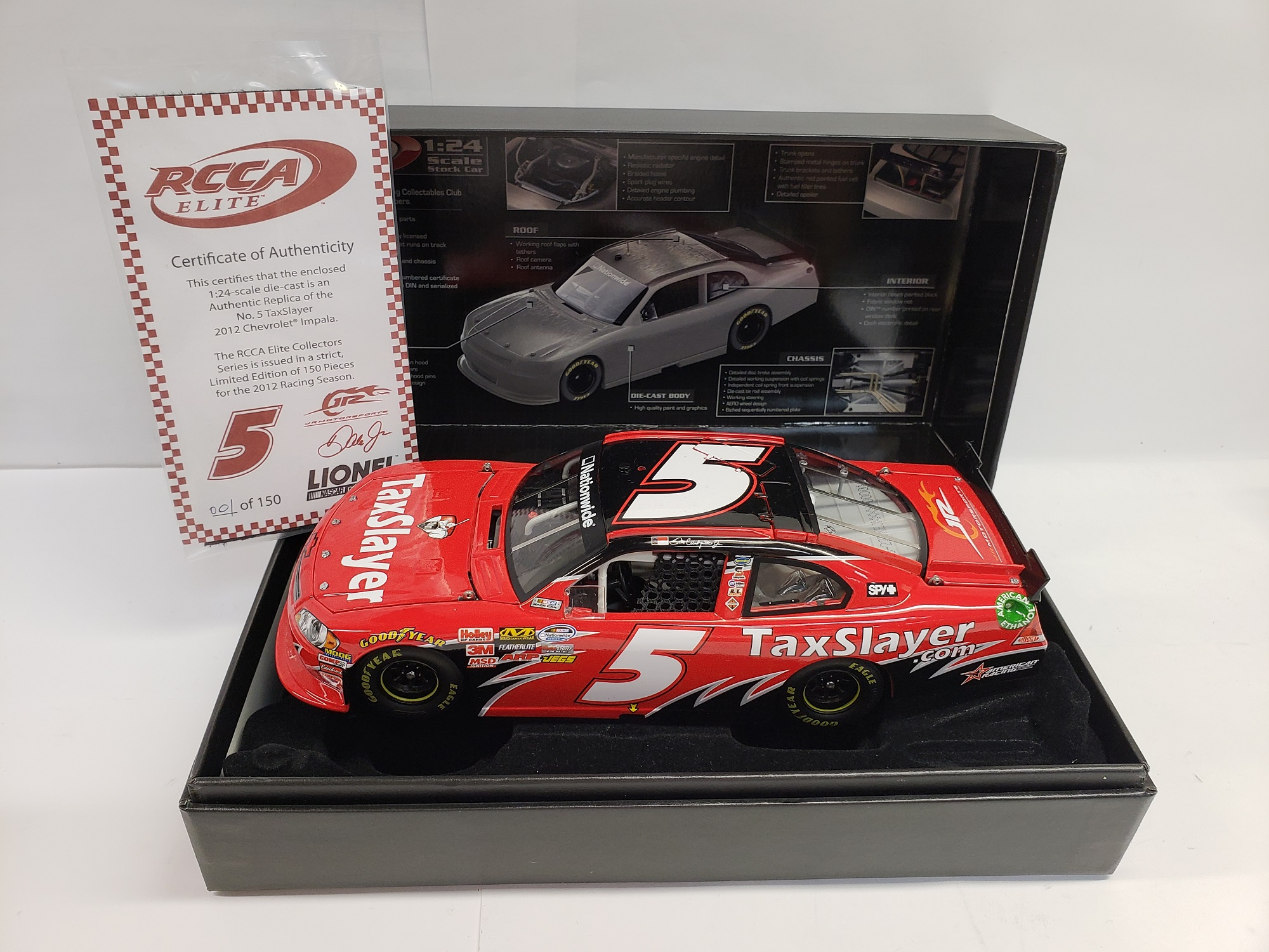 2012 Dale Earnhardt Jr Taxslayer ELITE