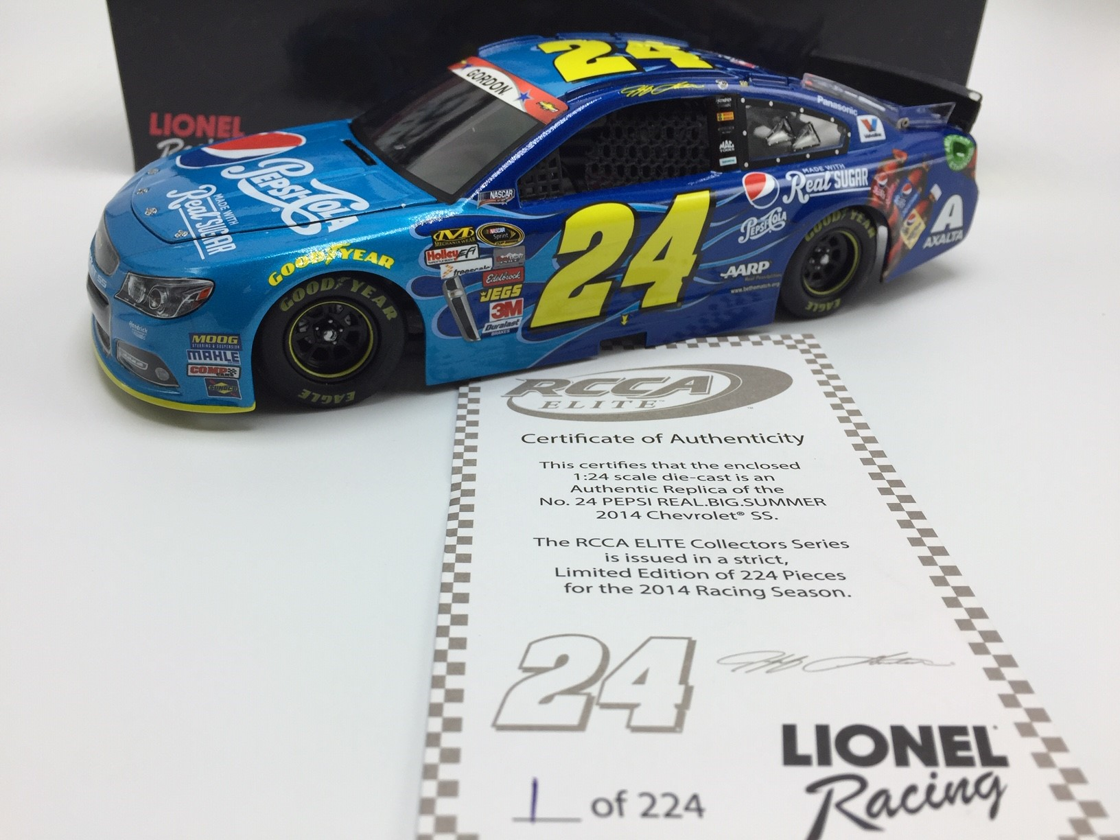 Jeff Gordon 24 Car 2014