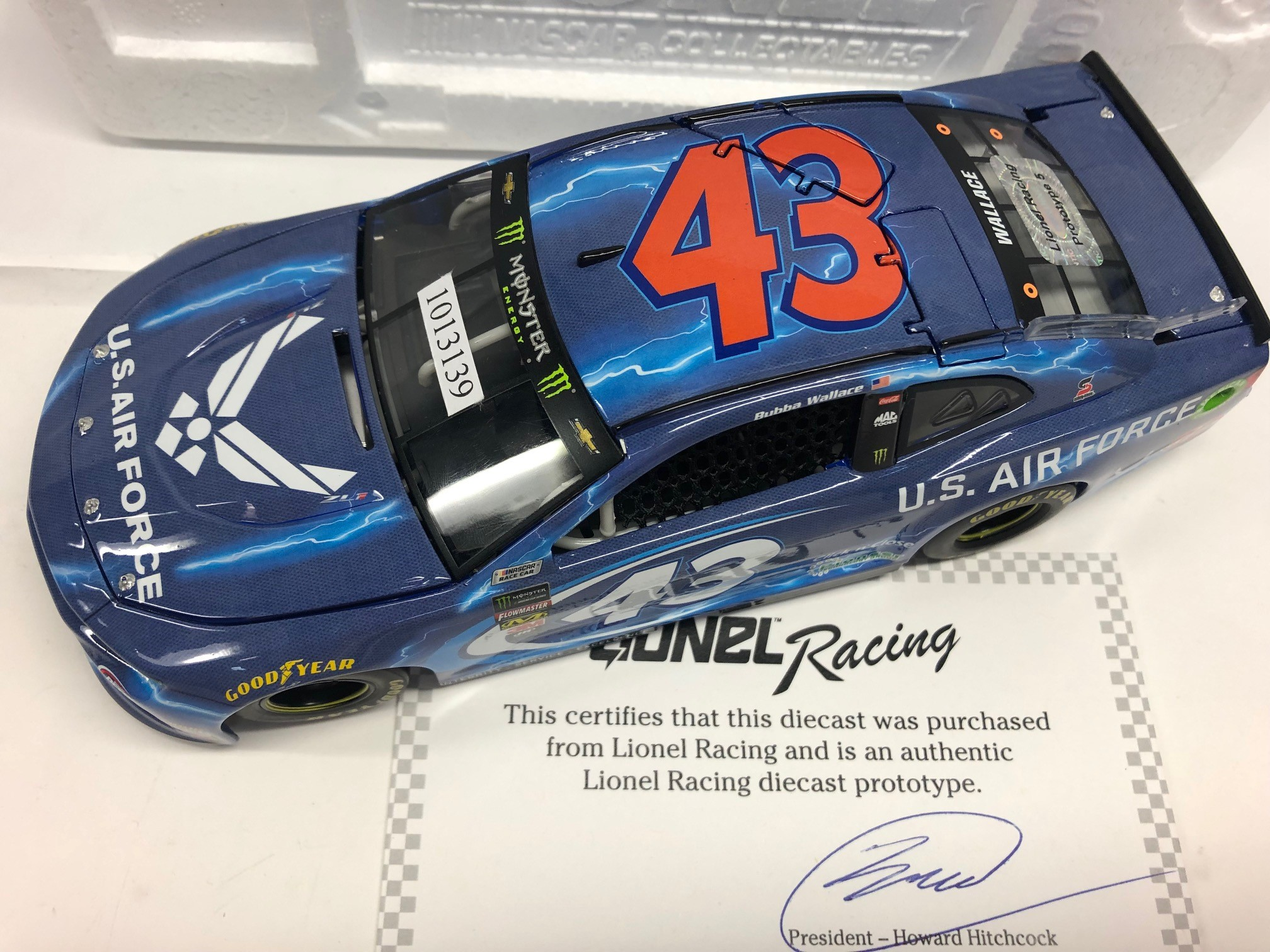 Lionel Racing Bubba Wallace 2018 Air Force 1:24