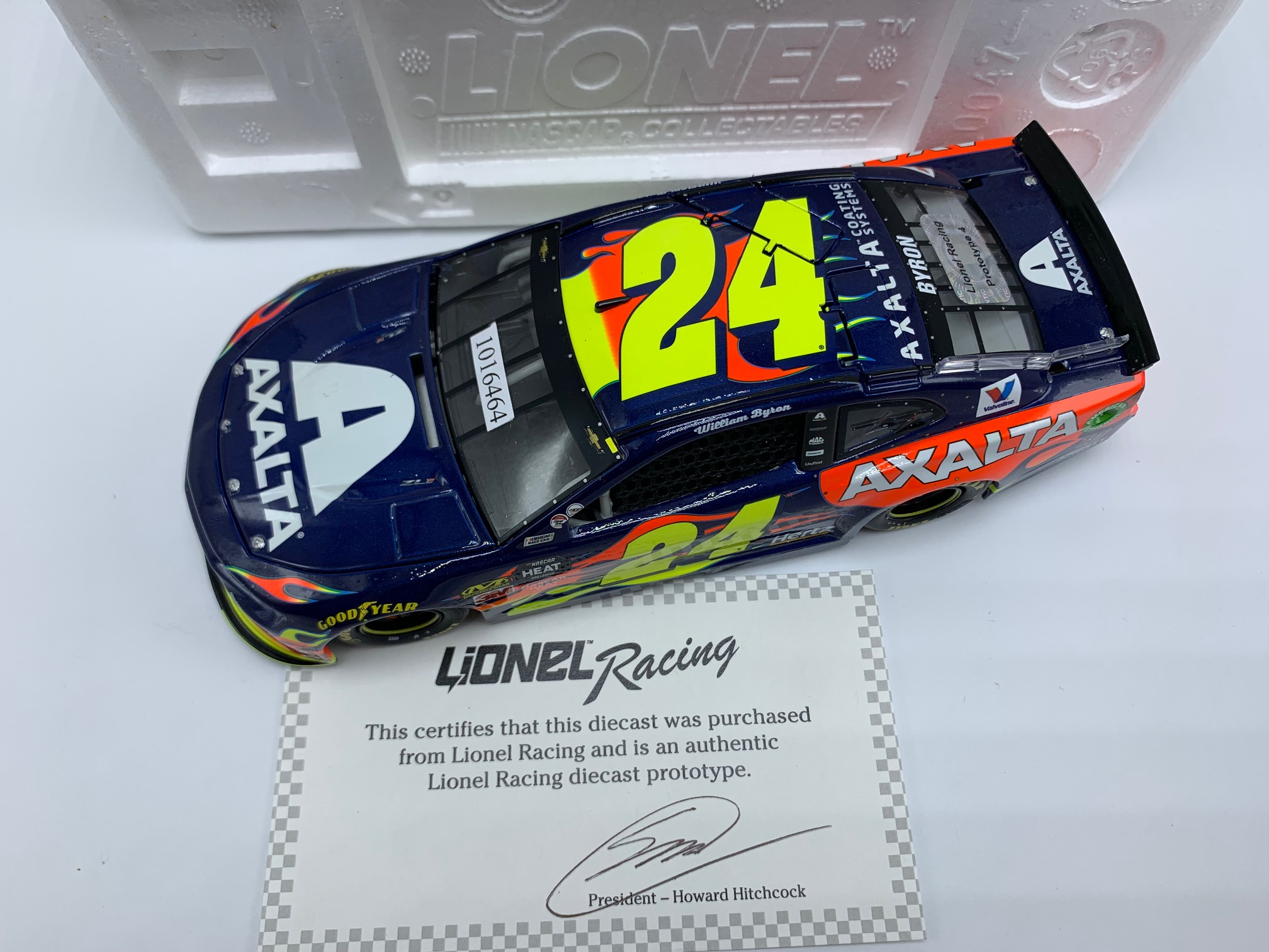 WILLIAM BYRON 2019 AXALTA DAYTONA 500 POLE 1:24 ARC PROTOTYPE - PROTO #4