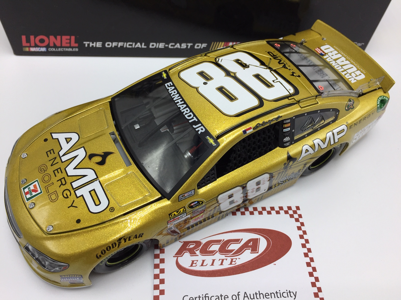 2013 Dale Earnhardt Jr ELITE Amp Energy Gold