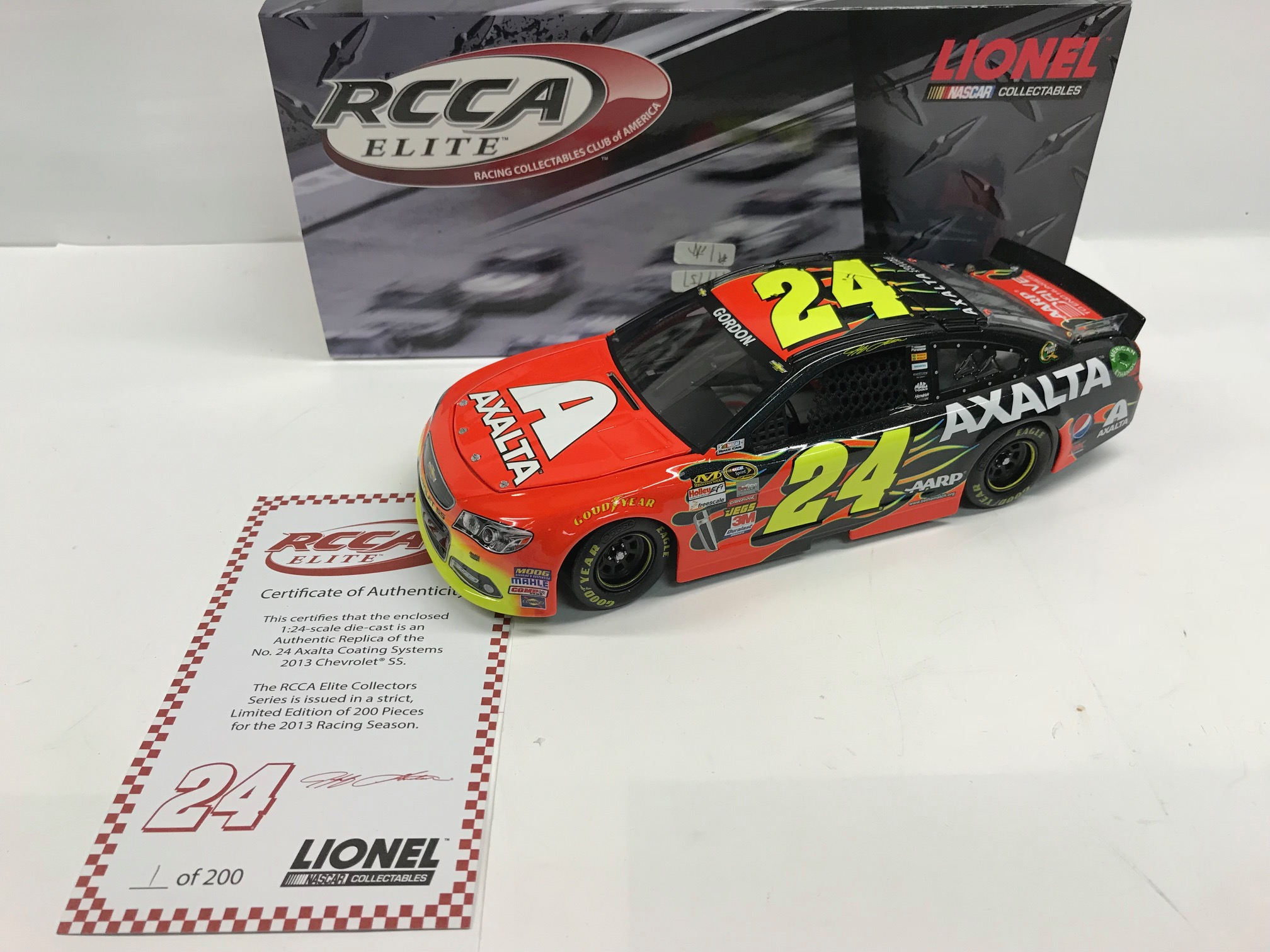 2013 Jeff Gordon Axalta ELITE