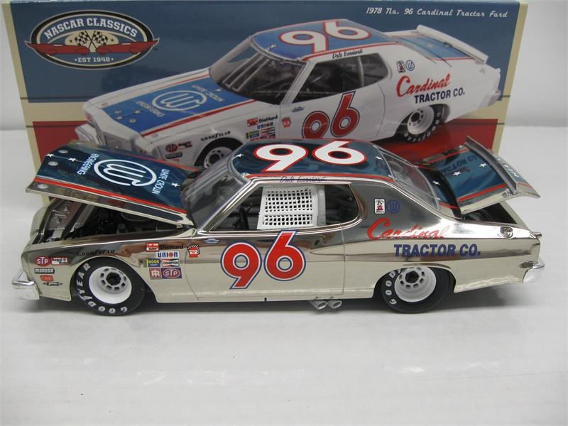 Dale Earnhardt Cardinal Tractor  1978 Ford Torino Color Chrome